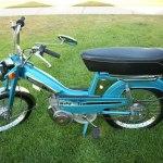 Blue 1980 Motobecane 50v