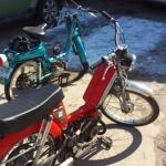 Peugeot 103 and Cimatti City Bike