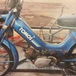 Blue Tomos