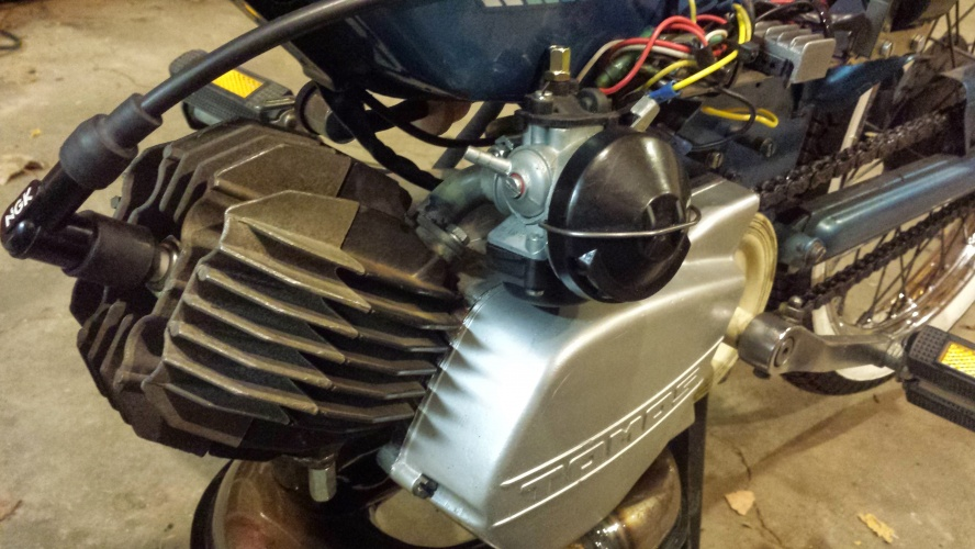 Marty's Garage | Use a Tomos A55 intake on an A3