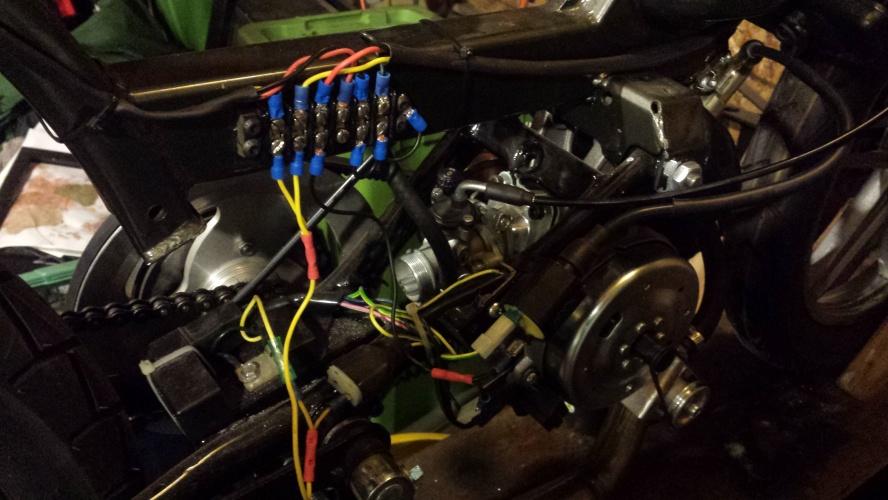 Peugeot 103 wiring