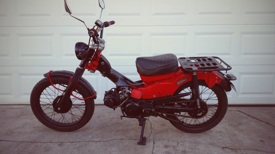 Custom Honda Trail CT110