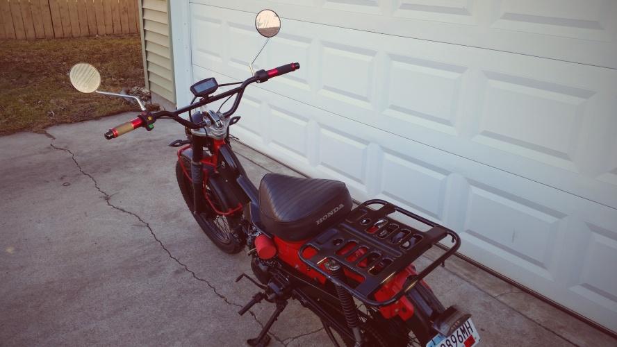 Custom Honda Trail CT110